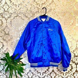 VTG 80s Swingster Blue Varsity Jacket